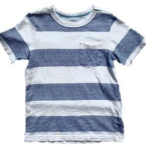 Boys Carter's Striped Pocket Tee